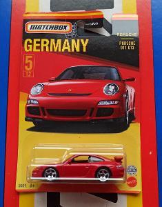 Porsche 911 GT3 Germany MB 5/12 Matchbox