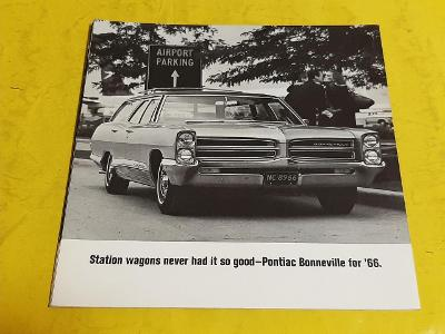 --- Pontiac Station Wagons 1966 ---------------------------------- USA
