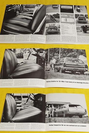 --- Pontiac Station Wagons 1966 ---------------------------------- USA - Motoristická literatura