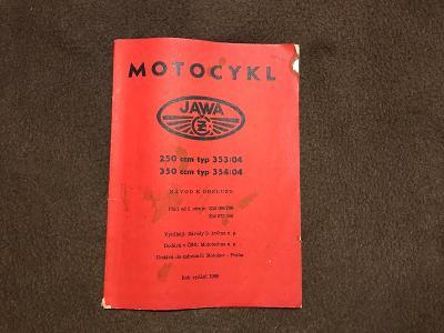 stara kniha MOTOCYKL JAWA-250.350