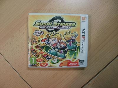 Hra na Nintendo 3DS + 2DS - Sushi Striker  - The Way of Sushido