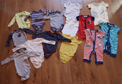 Set pro chlapečka 3 - 6 měsíců(71 ks)