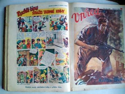 Časopis VPŘED - Rychlé šípy, roč.2 (čísla 1 - 38, rok 1946 až 47 )