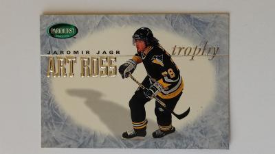 Prodám hokejovou kartu Jaromír Jágr - Parkhurst - Art Ross Trophy