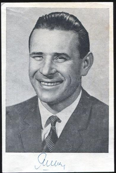 Lev Jašin (1929-†1990) - SSSR fotbal - zlato OH 56, MS 1958. 1962 a 66