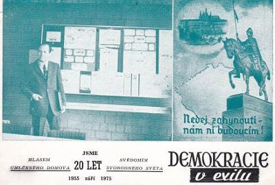 KŘESŤANSKÁ DEMOKRACIE V EXILU - 20 LET - 4-KW100