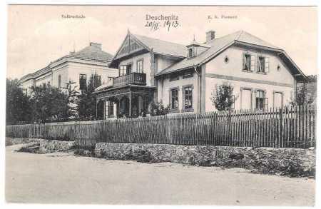 Dešenice (Deschenitz) - škola