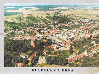 KLOBOUKY U BRNA - POHLED Z LETADLA - 34-AD77