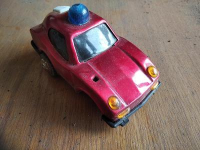 Retro hračka IGRA KDN ites plechové auto hasič