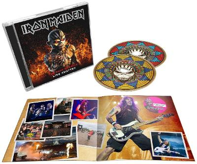 IRON MAIDEN - The book of souls-Live chapter-2cd
