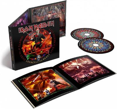 IRON MAIDEN - Nights of the dead (Live in Mexico City)-2cd