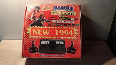 Rambo TV Games Atari 2600