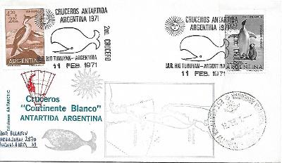 Obálka Argentina Antarktida