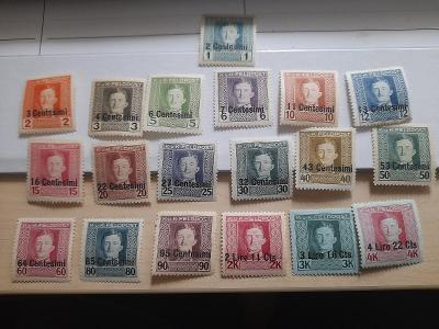 ANK 1918 Polní pošta  Itálie  č 1-19  *  od korunky!!!!
