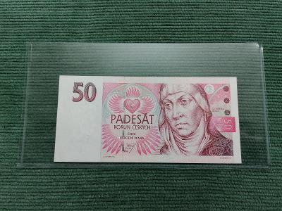 50 Kč 1994, série B 25, stav UNC