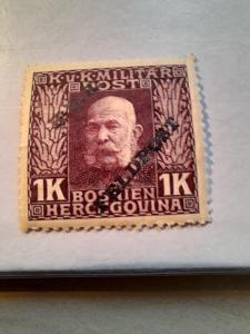 ANK 1915 Polní pošta Bosna H. č 17 * hledané od korunky!!!!