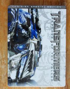 Transformers: Pomsta poražených / Steelbook / 2DVD