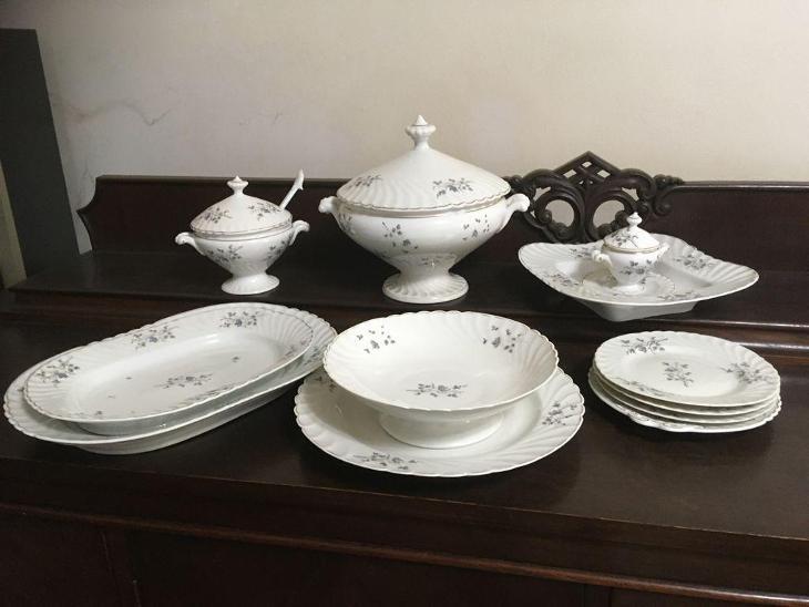 Starožitný porcelán - Porcelán