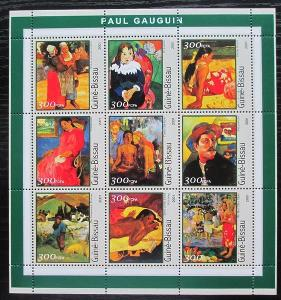 Guinea-Bissau 2001 Umění, Paul Gauguin Mi# 1642-50 Kat 11€ 2544
