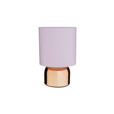 STOLNÍ LAMPY  2KS RŮŽOVÉ + MĚĎ 3904/V1 PPP