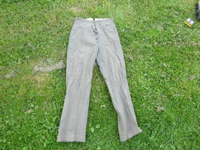 Staré vojenské kalhoty - asi Německé