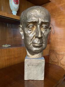 Busta ** JAN MASARYK **  sochař. Jan Kolář