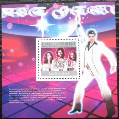 Guinea 2010 The Bee Gees, hudební skupina Mi# Block 1816 Kat 10€ 2544