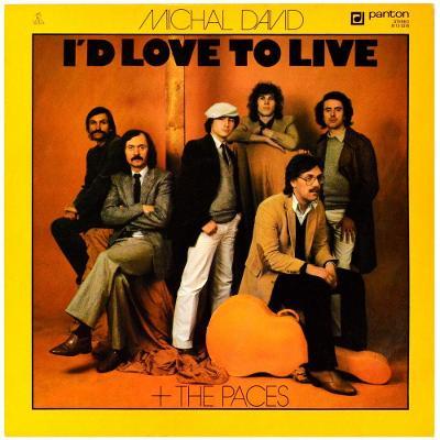 Gramofonová deska MICHAL DAVID & THE PACES - I'd love to live