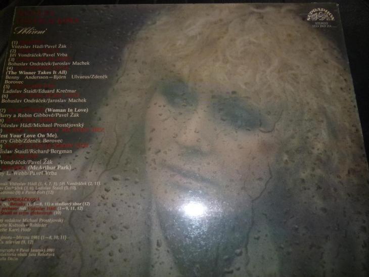LP Helena Vondráčková  - Hudba