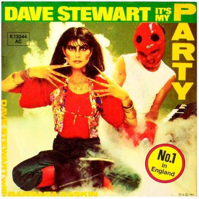 Gramofonová deska DAVE STEWART with BARBARA GASKIN - It's my party