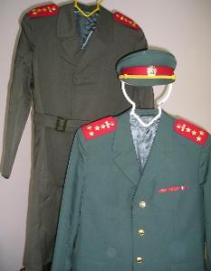 Společenská uniforma  SNB - velikost 53/1
