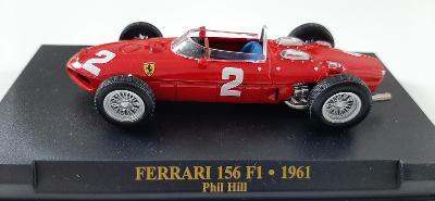MODEL F1 FERRARI 156 F1 PHIL HILL WORLD CHAMPION 1961 1:43