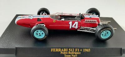 MODEL  F1 FERRARI 512 F1 PEDRO RODRIGUEZ 1965 1:43