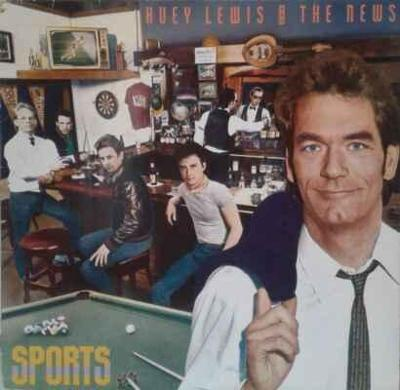 LP Huey Lewis And The News - Sports, 1987 EX