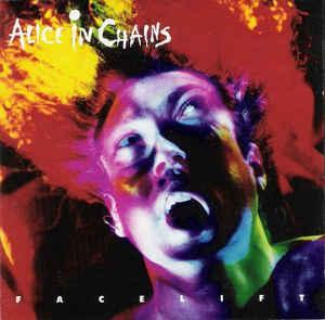ALICE IN CHAINS - Facelift CD 1990 hard rock , grunge