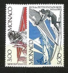 Monako-**Mi.č.1808/9 /3226B/