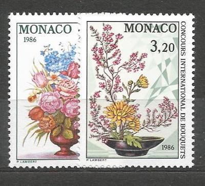 Monako-**Mi.č.1718/9 /1600D/