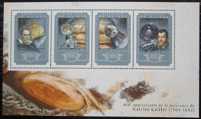 Guinea 2014 Galileo Galilei Mi# 10807-10 Kat 20€ 2547