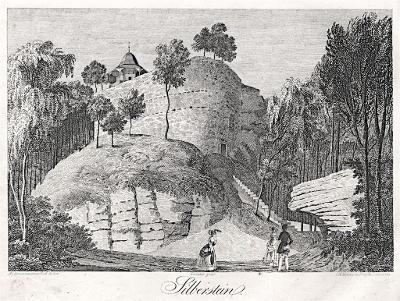 Silberstein, Heber, litografie, 1843