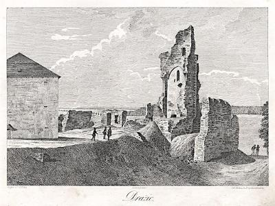 Dražice, Heber, litografie, 1843