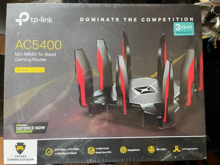 Herní WiFi router TP-LINK Archer C5400X herní - PC komponenty