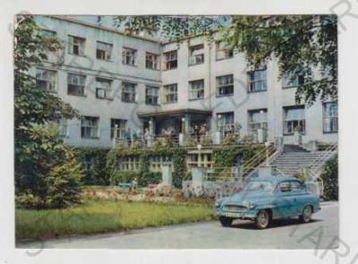 Lázně Darkov (Karviná), lázně, automobil