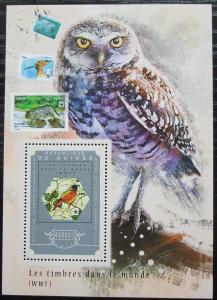 Guinea 2014 Fauna WWF na známkách Mi# Block 2476 Kat 16€ 2549