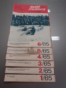 Svět motorů - rok 1965