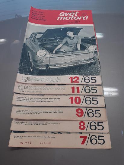 Svět motorů - rok 1965 - Ostatní