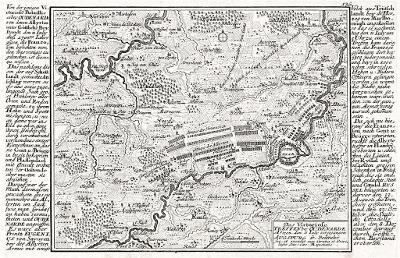Qudenarde bitva, Bodenehr, mědiryt, (1720)