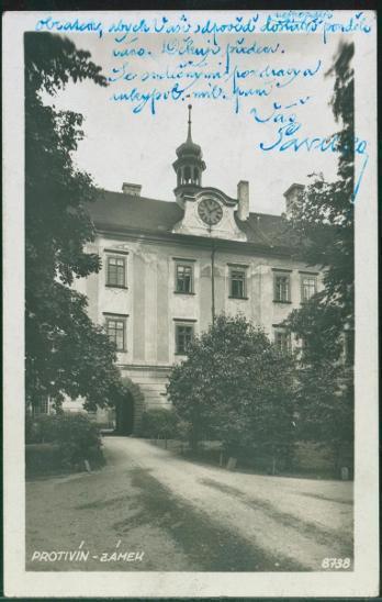 10D1974 Protivín zámek