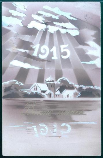 25A323 Přání k Novému roku 1915