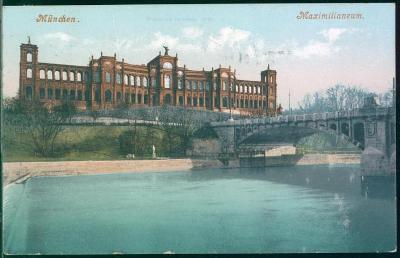 27A858 Mnichov / München, Maximilianeum, Německo / Deutschland