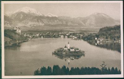 27A1186 Jugoslávie Bled
